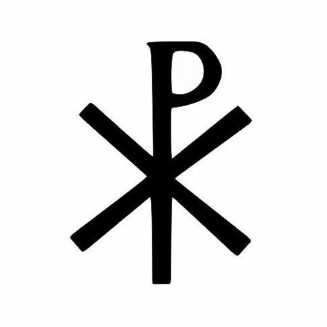 A personal favorite from my Etsy shop https://www.etsy.com/listing/498961003/chi-rho-catholic-symbol-decal-christian