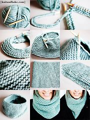 Here's my new pattern for a super easy, quick-to-knit, and beautiful turquoise cowl, made with really soft, warm yarn, and knitted in the round, so no seaming :)