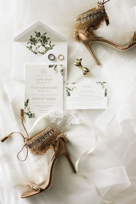The Prettiest Tented Graydon Hall Wedding | Laura + David