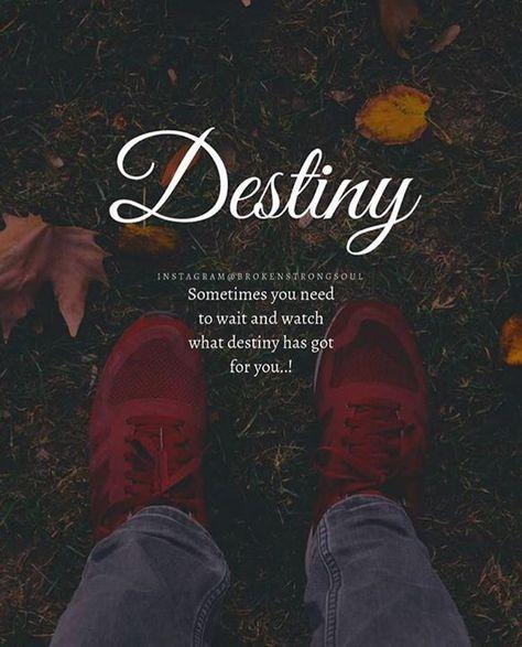 Inspirational Positive Quotes Destiny Destiny Quotes