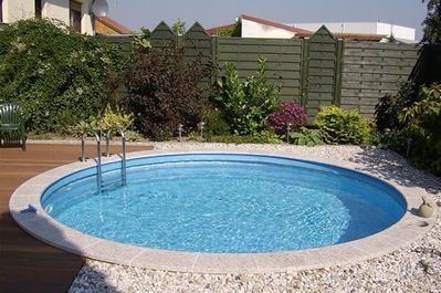 liten rund pool