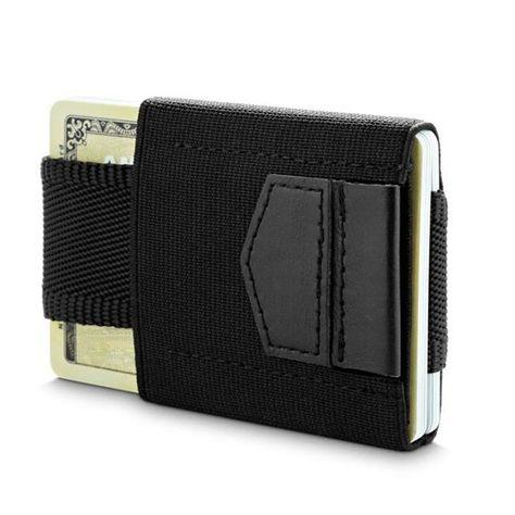Men ID Credit Card Wallets Small Pocket Holder Slim Mens Wallet Money Clip