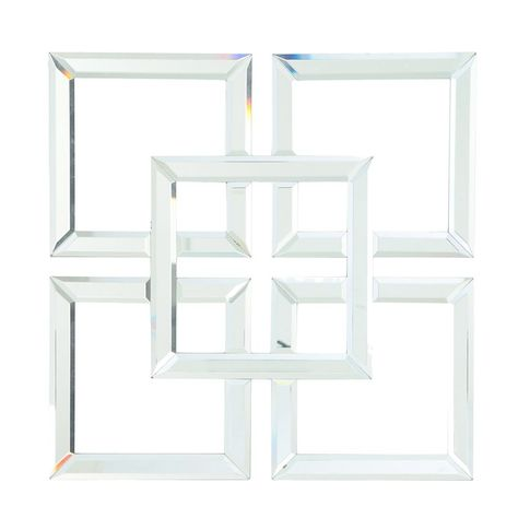 Square Wall Mirror-Four