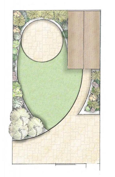 Small Garden Plans small garden design | owen chubb garden landscapes we design * we