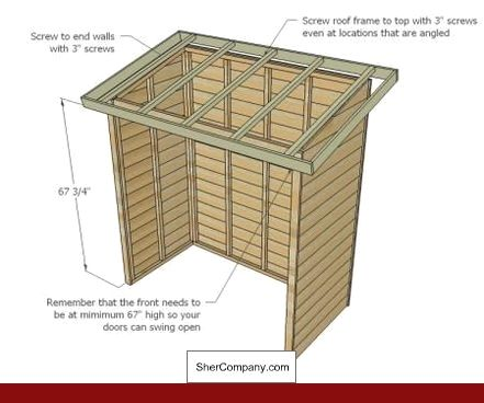 Plans For Pent Roof Shed And Pics Of 10 X 12 Gambrel Roof