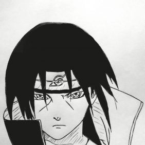 How To Draw Itachi From Naruto With Images Itachi Drawings