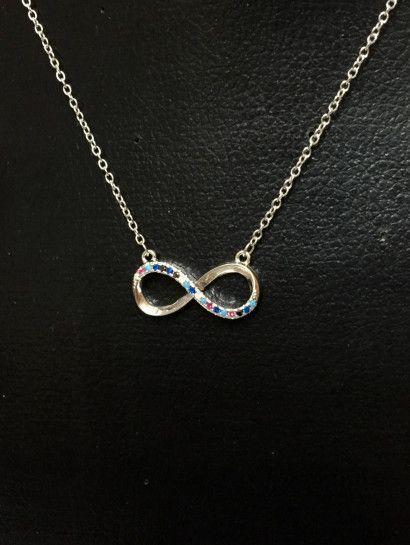 كوليه فضة عيار 925 خصم مميز لفتره محدوده جدا السعر قبل الخصم 450ج السعر الآن 243 جنيه Diamond Necklace Diamond Jewelry