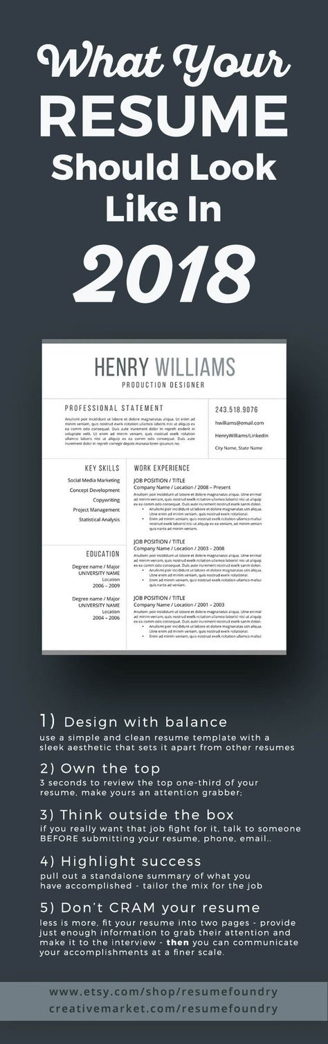100 best Resume images on Pinterest Career advice, Cover letter - resume 5 pages
