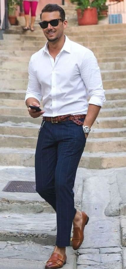 7 Ways To Wear A White Shirt - A Men's Style Guide [With Photos