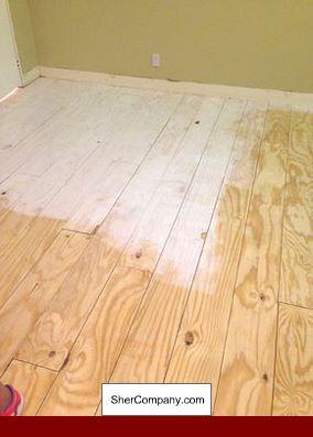 Underlayment In Spanish Hardwood And Floordesign Wood Floors Wide Plank Diy Wood Floors Plywood Flooring