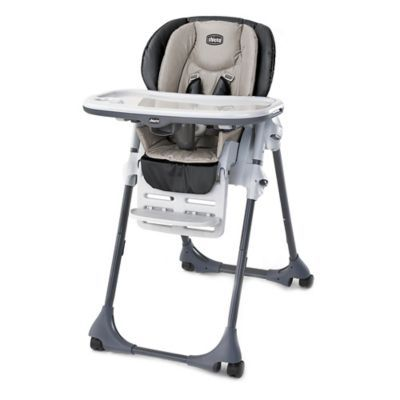 Chicco Polly High Chair In Romantic Buybuybaby Com High Chair Baby High Chair Diy Chair Covers