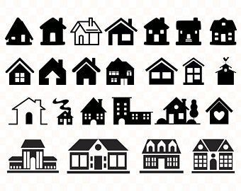 Doodle House Clipart House Vector Art Home House City Town House Png Home Vector Download House Illustrations 101 Clip Art House Vector House Silhouette
