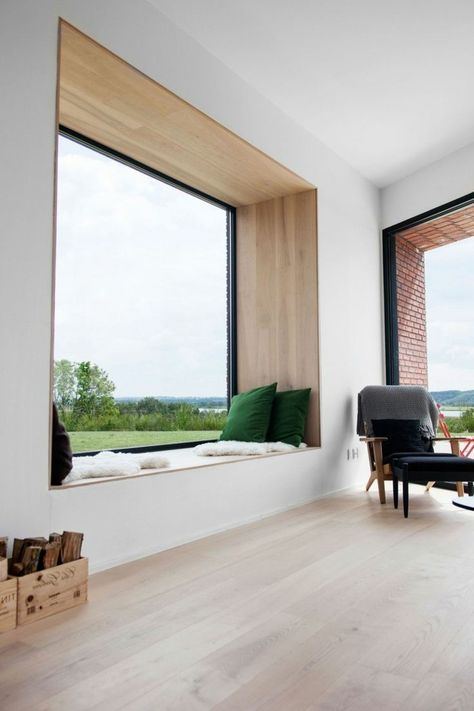 Great living room, design by Architected Via desire to inspire - wohnideen speisen moderne