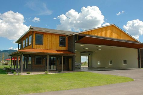 Hanger Home Ideas Yahoo Image Search Results Home Building Design Building A House Metal Building Homes