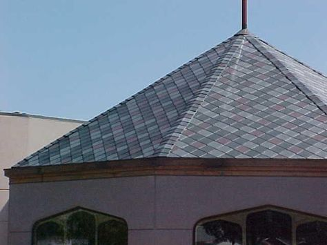 Ecostar Majestic Slate Synthetic Slate Roofing Slate Roof Tiles