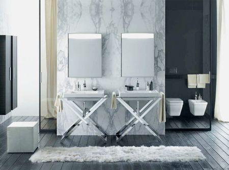 25 best Art Deco Bathrooms images on Pinterest | Art deco bathroom ...
