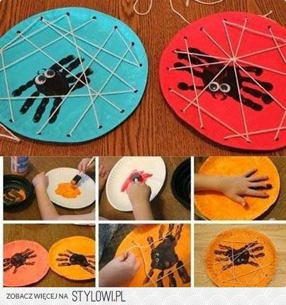 Easy Halloween Projects To Do With Kids If You Suck At DIY Like Me - halloween craft decorations