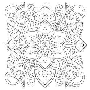 Pin On Mandala Coloring
