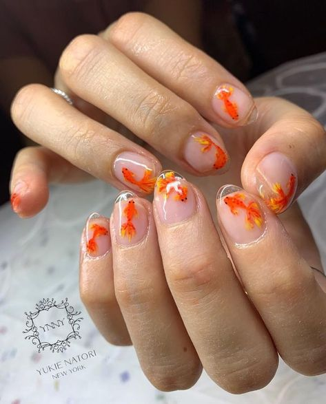 """If you're unfamiliar with nail trends and you hear the words """"coffin nails,"""" what comes to mind? It's not nails with coffins drawn on them. It's long nails with a square tip, and the look has. Spring Nail Art, Nail Designs Spring, Spring Nails, Minimalist Nails, How To Do Nails, My Nails, Salon Nails, Nagel Tattoo, Nail Polish"""