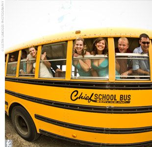 79 Best School Bus Wedding Images On Pinterest Buses Transportation And Bridal Photography
