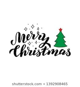 Similar Images Stock Photos Vectors Of Vector Illustration Of Merry Christmas Lettering Text Sign Hand Dra Christmas Lettering Lettering Holiday Traditions