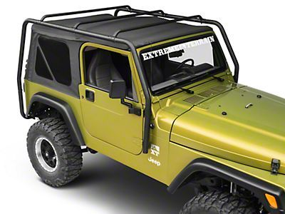 Smittybilt Jeep Wrangler Src Roof Rack 300 Lb Rating Black