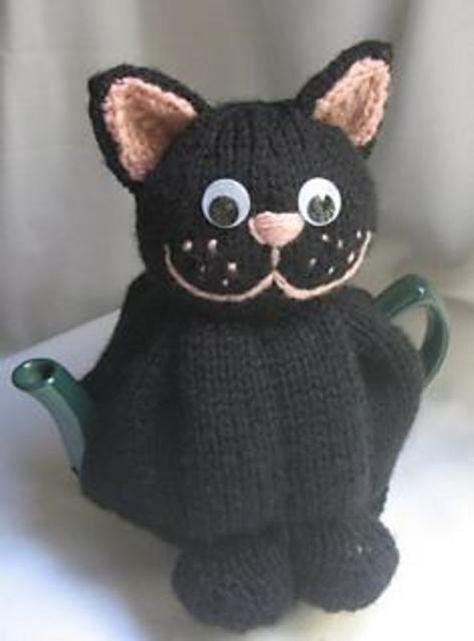 Cat Mug Cozy - hookedbyangel's Shop - Craftfoxes | 641x474