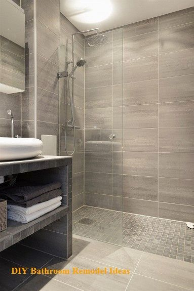 15 Incredible Diy Ideas For Bathroom Makeover In 2020 Small Bathroom Shower Remodel Bathroom Renovation Diy