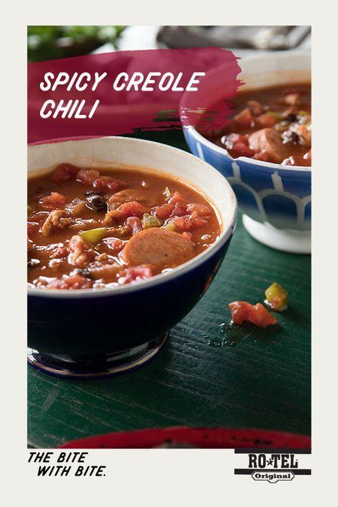 Spicy Creole Chili Recipe Cajun Chili Recipe Spicy Recipes Recipes