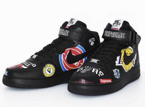 SUPREME NIKE X NBA COLLAB SIZE 7.5 DS STOCKX VERIFIED for