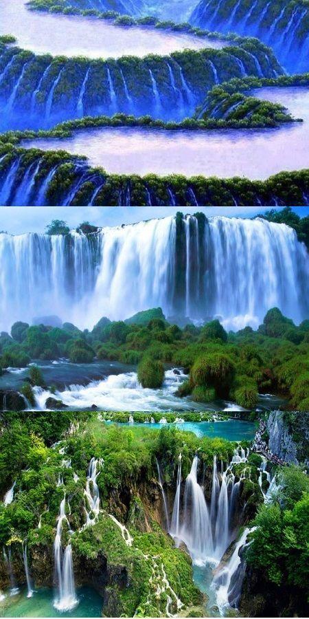 The World S Most Beautiful Waterfalls Video Nature Waterfall Places Beautiful Beautiful Waterfalls World S Most Beautiful Waterfall