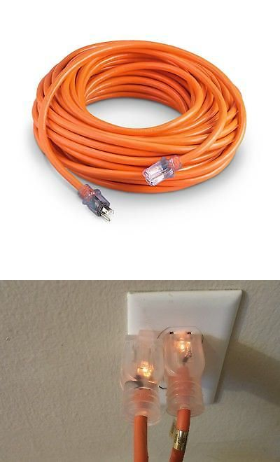 Extension Cord 25 Ft 10 Gauge Heavy Duty Contractor Lit Ends Ul 10 3 Feet Ebay Extension Cord Extensions Light