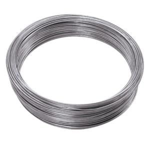 Ook 100 Ft 10 Lb 24 Gauge Galvanized Steel Wire 50136 The Home Depot Galvanized Steel Galvanized Wire