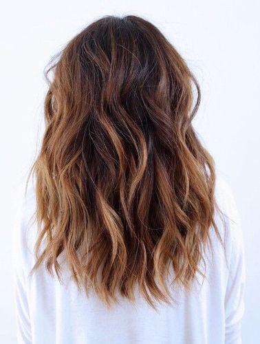 sombre + loose curls