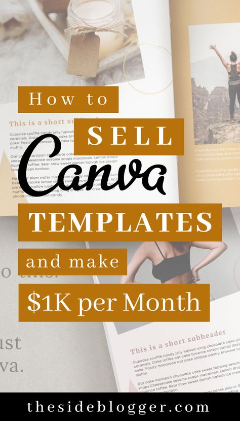 How to Sell Canva Templates And Make 1K+ Per Month