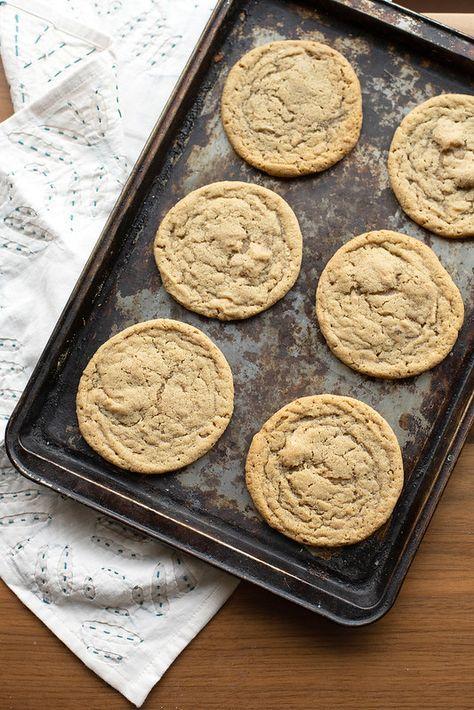 Tahini Blond Chocolate Cookies | Crumb: A Food Blog