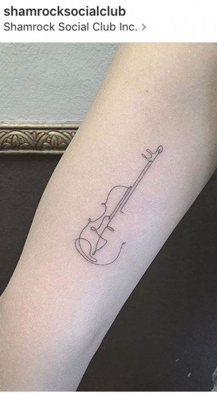 Super Tattoo Music Violin Beautiful 42 Ideas In 2020 Violin Tattoo Music Tattoos Cello Tattoo