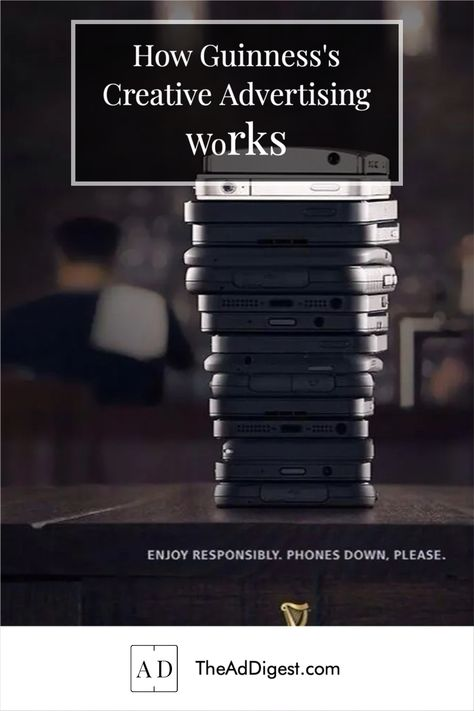How Guinness's Creative Advertising Works