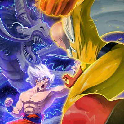 Artstation Saitama One Punch Man Look Dev Ljabli Salim Dragon Ball Wallpapers Dragon Ball Super Wallpapers Dragon Ball Super Art