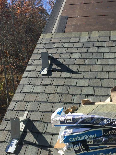 Roof Shingle Fiberglass Architectural Asphalt That Looks Like Slate By Certainteed An Architectural Shingles Roof Architectural Shingles Asphalt Roof Shingles