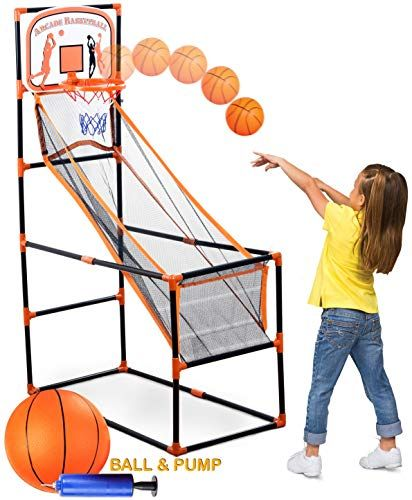 Bundaloo Arcade Basketball Game Best Portable Hoop Shoo Https Www Amazon Com Dp B07nd4cxx5 Re Shooting Games For Kids Arcade Basketball Basketball Games