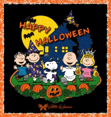 Halloween Fabric-Its The Great Pumpkin, Charlie Brown Fabric-Trick ...