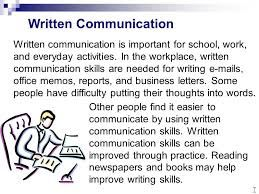 Written Communication Communication Skills Business Writing Writing Services