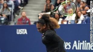 Naomi Osaka Beats Serena Williams In Controversial Us Open Final Serena Williams Tennis Players Female Us Open Final