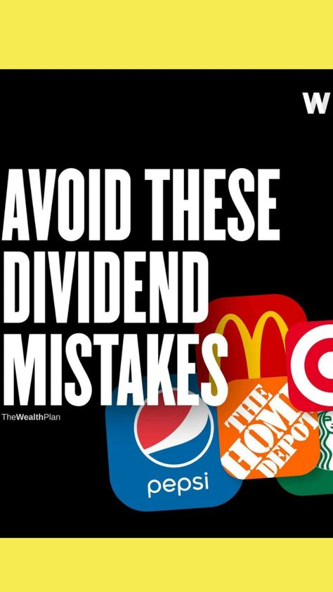 AVOID THESE DIVIDEND MISTAKES