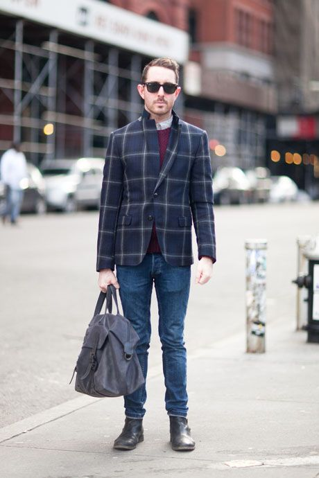 Street Style: It's Good to Be Plaid