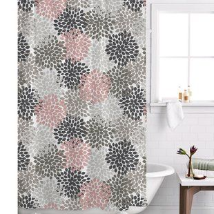 Image Result For Pink And Grey Shower Curtains Gray Shower Curtains Shower Curtain Curtains