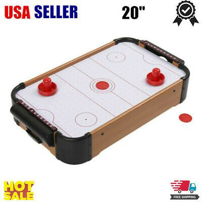 Advertisement Ebay 20 Table Top Air Hockey Battery Operated Pushers Puck Family Game Play Set Gift Air Hockey Mini Table Air Hockey Table