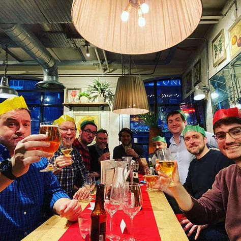 Fun times at the @pocketlintcom Christmas lunch yesterday!