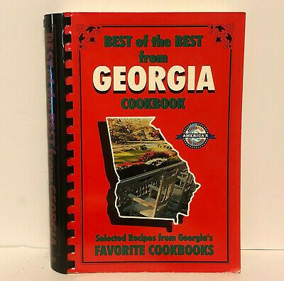 Best Of The Best From Georgia Cookbook 2001 Printing In 2020
